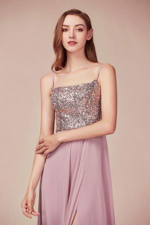 Lily- Sophie - Sequin Evening Gown